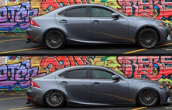 AIR LIFT PERFORMANCE REAR PERFORMANCE KIT FOR 2014-2019 LEXUS IS200T/IS250/IS300/IS350 (FITS ALL POWERTRAINS AND F SPORT PACKAGE) (FITS AWD & RWD MODELS)