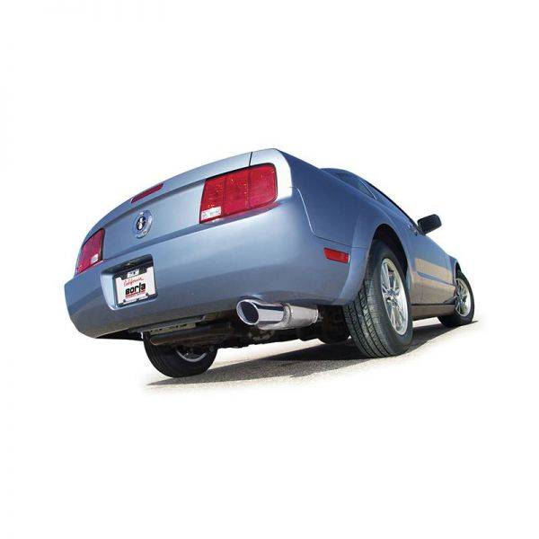 BORLA AXLE-BACK EXHAUST FOR 2005-2009 FORD MUSTANG 4.0L V6 AUTOMATIC/ MANUAL TRANSMISSION REAR WHEEL DRIVE 2 DOOR COUPE/ CONVERTIBLE.