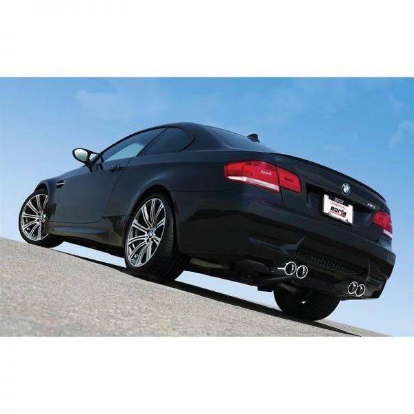 BORLA AXLE-BACK EXHAUST ATAK® FOR 2008-2013 BMW E92/ E93 M3 4.0L V8 AUTOMATIC/ MANUAL TRANSMISSION REAR WHEEL DRIVE 2 DOOR COUPE/ CONVERTIBLE.