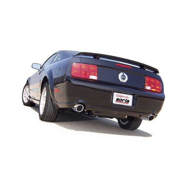 BORLA AXLE-BACK EXHAUST ATAK® FOR 2005-2009 FORD MUSTANG GT 4.6L V8 AUTOMATIC/ MANUAL TRANSMISSION REAR WHEEL DRIVE 2 DOOR COUPE/ CONVERTIBLE.