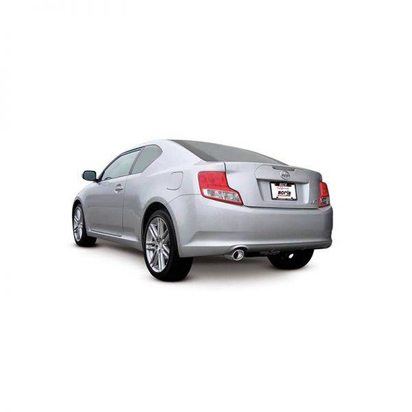 BORLA AXLE-BACK EXHAUST S-TYPE FOR 2011-2016 SCION TC 2.5L 4 CYL. AUTOMATIC/ MANUAL TRANSMISSION FRONT WHEEL DRIVE 2 DOOR.