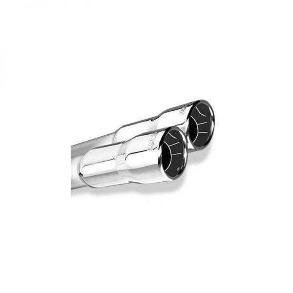 BORLA AXLE-BACK EXHAUST ATAK® FOR 2006-2013 CHEVROLET CORVETTE (C6) Z06/ ZR1 7.0L/ 6.2L V8 MANUAL TRANSMISSION ONLY REAR WHEEL DRIVE 2 DOOR COUPE.