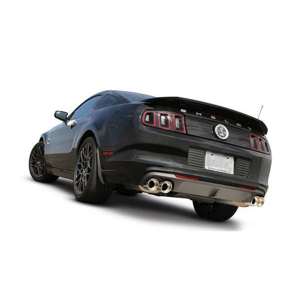 BORLA AXLE-BACK EXHAUST ATAK® FOR 2013-2014 FORD MUSTANG SHELBY GT500 GT 5.8L V8 MANUAL TRANSMISSION REAR WHEEL DRIVE 2 DOOR.