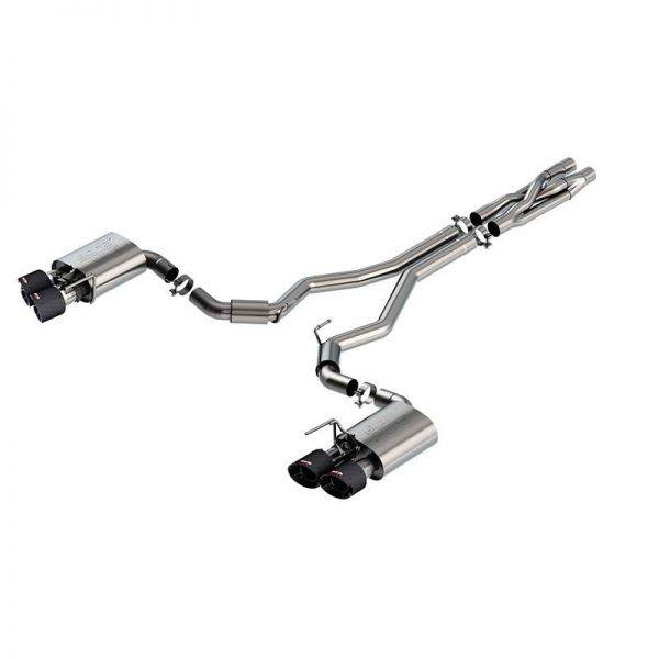 BORLA CAT-BACK™ EXHAUST ATAK® FOR FORD MUSTANG SHELBY GT500 - 140837CF