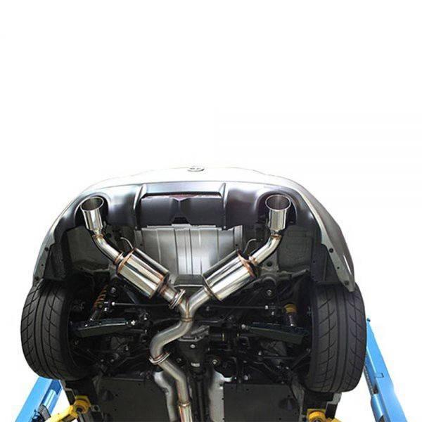 GREDDY EVOLUTION GT CAT-BACK EXHAUST FOR 2013-2016 SCION FR-S / SUBARU BRZ