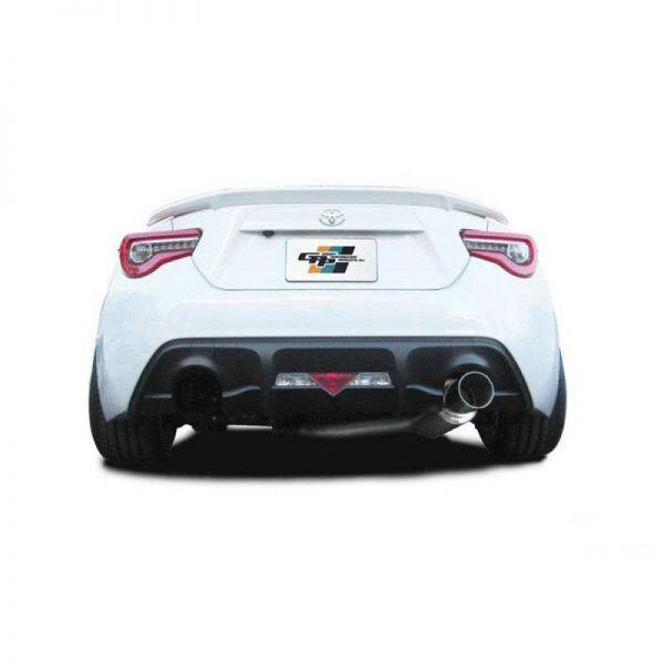 GREDDY RS-RACE 304 SS CAT-BACK EXHAUST FOR 2017-2020 TOYOTA 86 / SUBARU BRZ