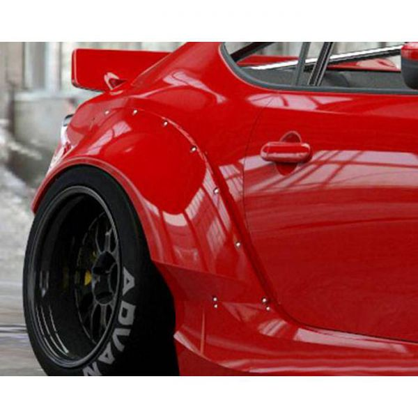 GREDDY ROCKET BUNNY VERSION 2 REAR FENDERS FOR SCION/SUBARU/TOYOTA FR-S/BRZ/GT86