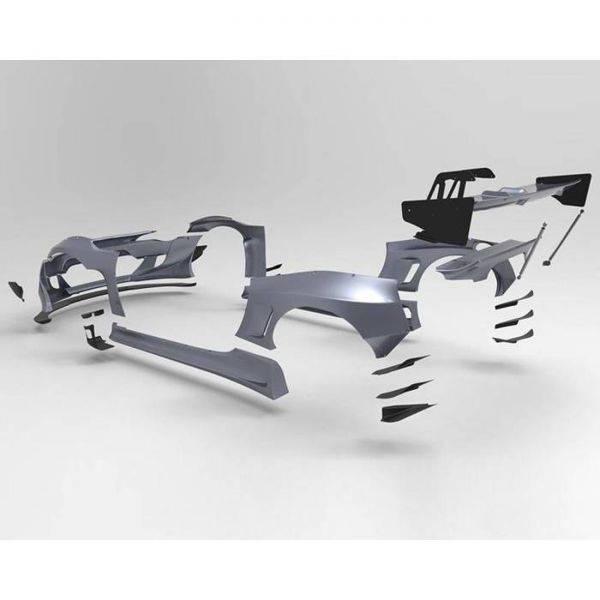 GREDDY PANDEM VERSION 3 KIT W/O WING FOR 2013-2020 SCION/SUBARU/TOYOTA FR-S/BRZ/GT86