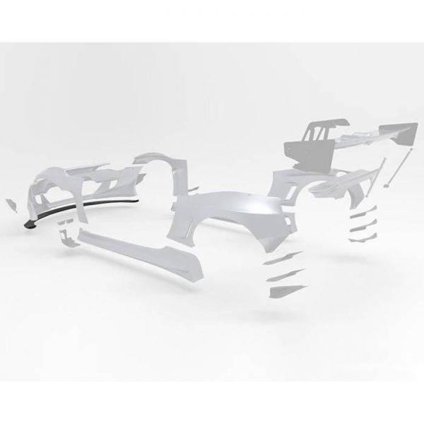 GREDDY PANDEM VERSION 3 FRONT SPLITTER FOR 2013-2020 SCION/SUBARU/TOYOTA FR-S/BRZ/GT86