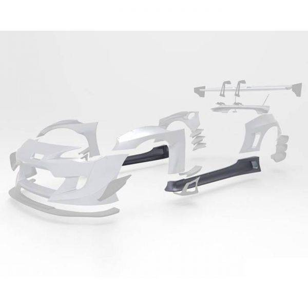 GREDDY PANDEM VERSION 3 SIDE SKIRTS FOR 2013-2020 SCION/SUBARU/TOYOTA FR-S/BRZ/GT86