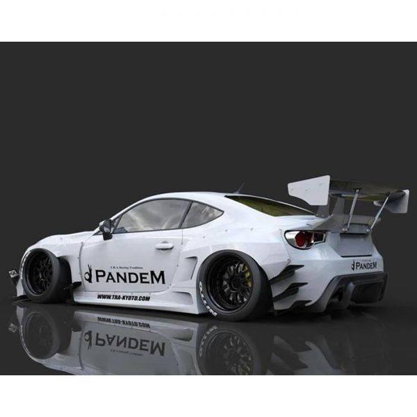 GREDDY PANDEM VERSION 3 REAR DIFFUSER FOR 2013-2020 SCION/SUBARU/TOYOTA FR-S/BRZ/GT86