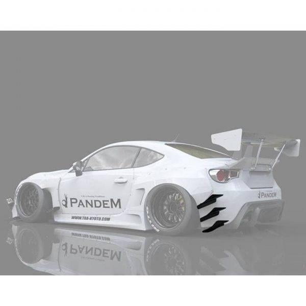 GREDDY PANDEM VERSION 3 REAR CANARDS FOR 2013-2020 SCION/SUBARU/TOYOTA FR-S/BRZ/GT86