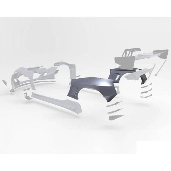 GREDDY PANDEM VERSION 3 REAR FENDERS FOR 2013-2020 SCION/SUBARU/TOYOTA FR-S/BRZ/GT86